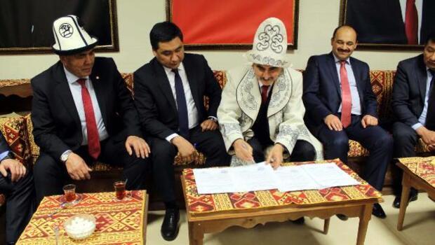 Tosya Haberleri: Tosya Belediyesi, Kırgızistan Tokmak şehri ile kardeş belediye oldu