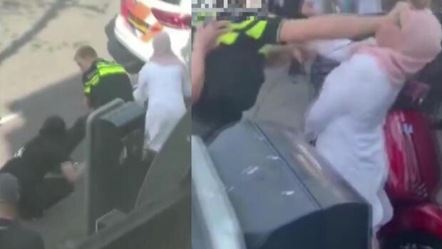 Hollanda'da polis şiddeti büyük tepki çekti