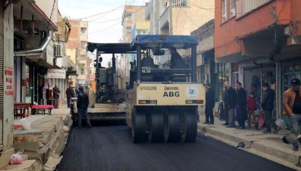 Batmanda asfalt çalışmaları devam sürüyor