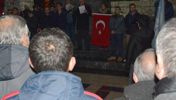 Sinop Ülkü Ocakları yürüyüş düzenledi