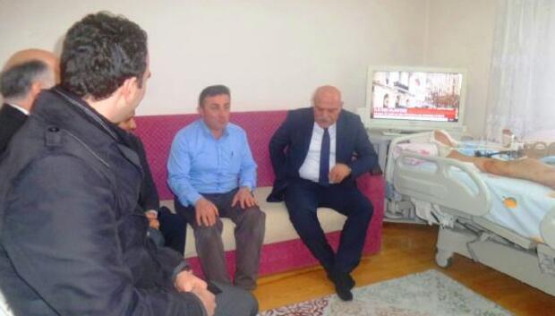 Sinop Valisi İpek'ten gaziye ziyaret