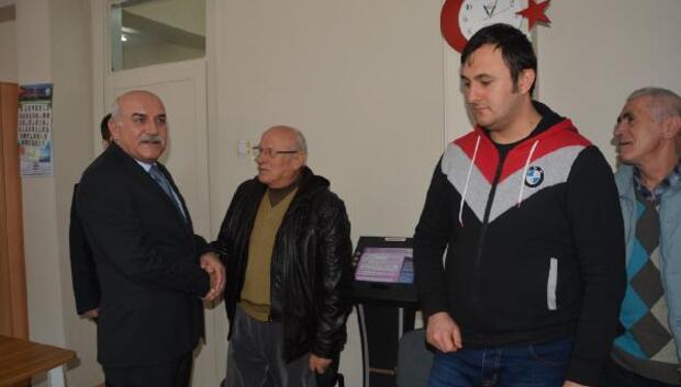 Sinop Valisi Hasan İpek, yeni kimlik başvurusu yaptı