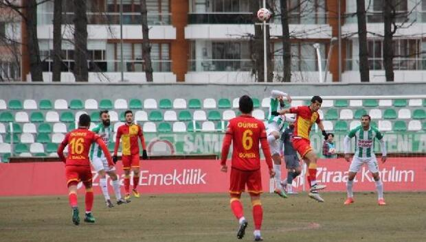Yeni Amasyaspor-Göztepe Fotoğrafları (Ziraat Türkiye Kupası)