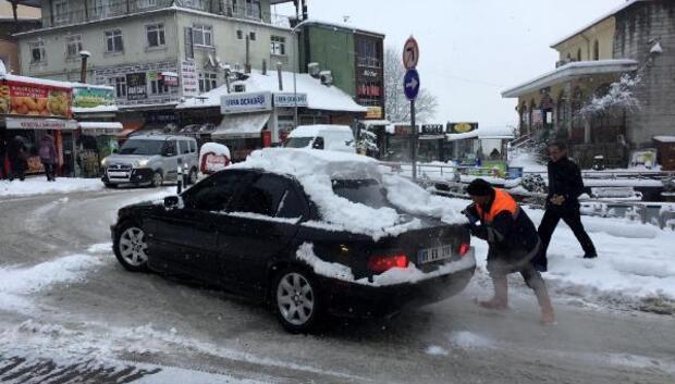Bartında kar hayatı olumsuz etkiledi