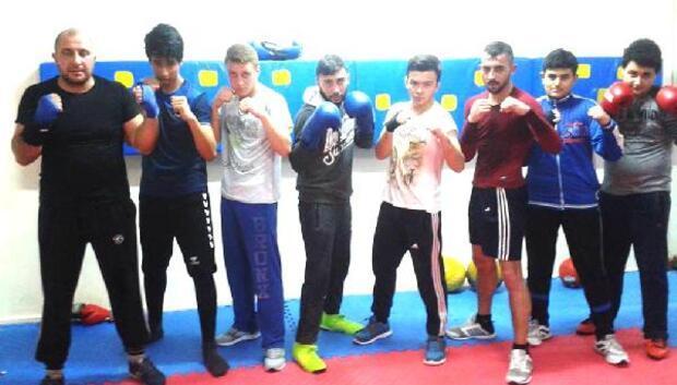 Nevşehirli boksörler, kadalya için ringe çıkacak