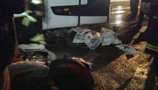 Zincirleme kazada 1 kişi öldü, 5 kişi yaralandı