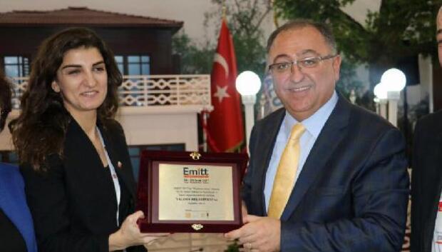 Yalova Belediyesi'ne birincilik ödülü