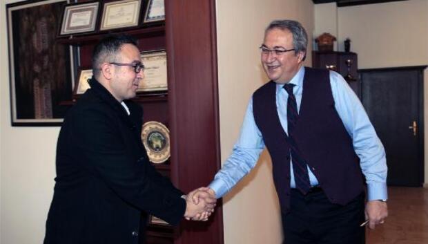 15 Temmuz Gazisi, Belediye Başkanı Ünver'i ziyaret etti