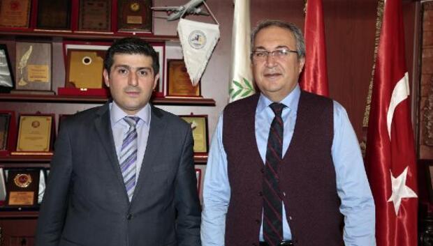 Nevşehir İŞKUR Müdürü Barata, Başkan Ünver'i ziyaret etti
