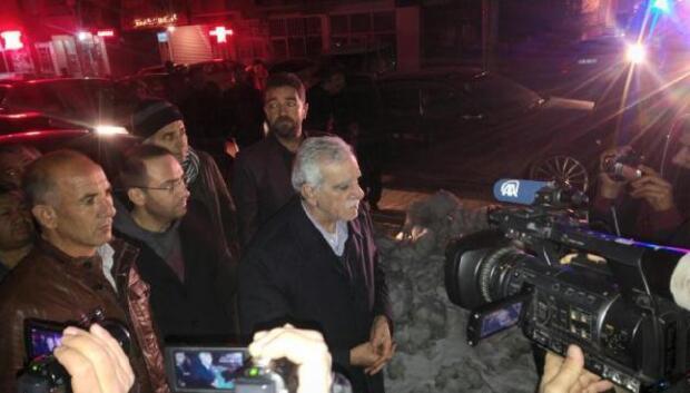 Ahmet Türk, Mardindeki evine gece yarısı geldi