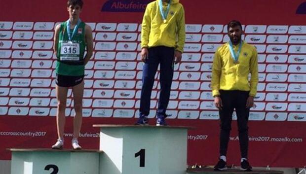 Milli Koşucu Ömer Oti Avrupa üçüncüsü oldu
