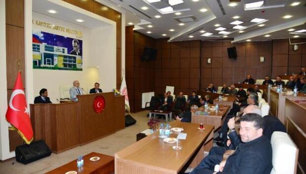 Kırşehir'de muhtarların sorunları dinlendi