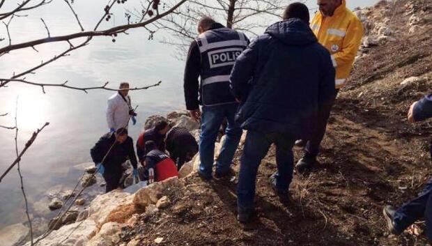 Eğirdir Gölünde kadın cesedi bulundu