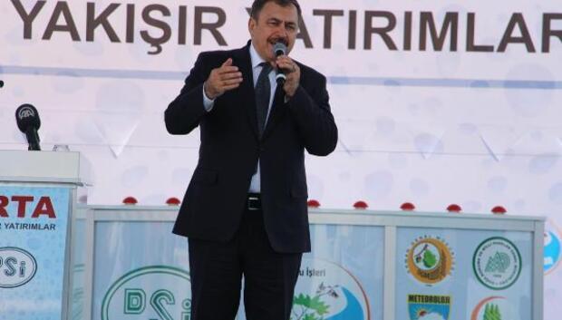 Bakan Eroğlundan referandum çağrısı