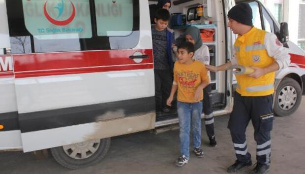 Karamanda 5 öğrenci okul sütü içtikten sonra rahatsızlandı