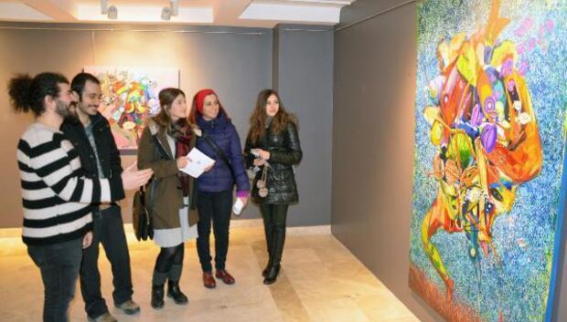 Fruttı Dı Mare resim sergisi açıldı