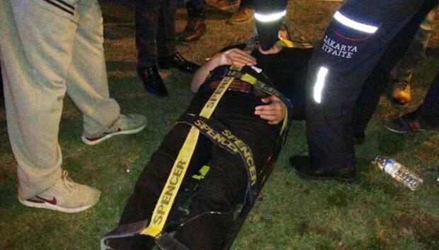 7 araca çarpan otomobil sürücüsü kaçtı