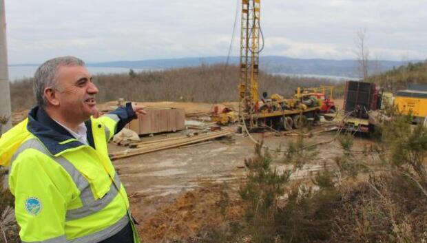 Sapancada bin 100 metre derinlikte jeotermal su bulundu