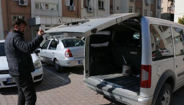 Kovalamacayla durdurulan sahte plakalı araçta 3 gözaltı