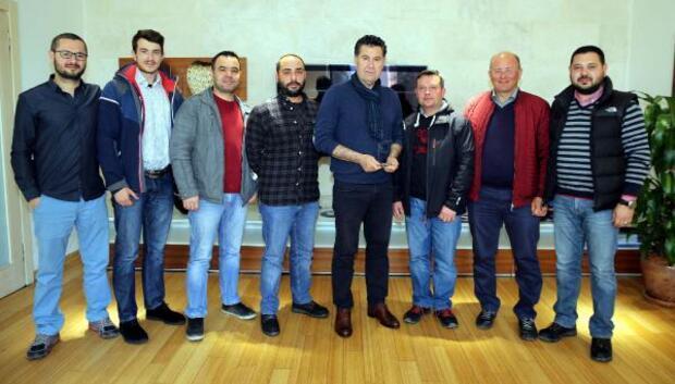 Bodrum Spin Avcılarından Başkan Kocadona teşekkür