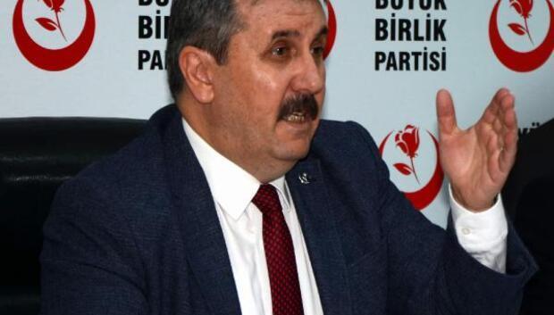BBP lideri Destici: Anayasa için istişareyle kararımızı açıklayacağız
