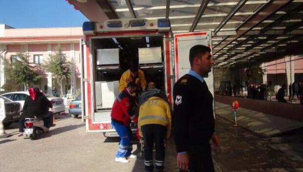 El Babda yaralanan 8 ÖSO askeri Kilise getirildi