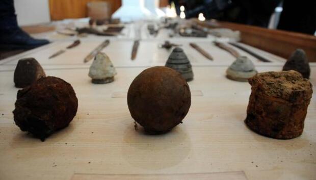 Çanakkale Savaşları eserleri ait olduğu topraklarda