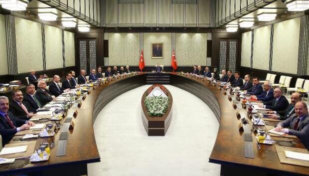 Bakanlar Kurulu Toplantısı Cumhurbaşkanlığı Külliyesinde