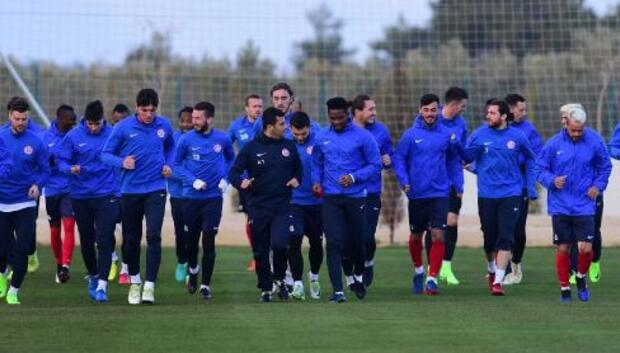 Antalyaspor, Akhisar hazırlığına başladı