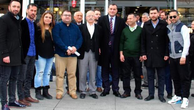Başkan Taşdelen Bahçeli esnafıyla buluştu