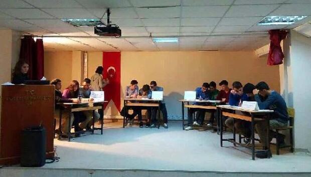 Liseler arası bilgi yarışması seçmeleri yapıldı