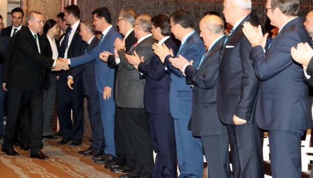Cumhurbaşkanı Erdoğan : Bu sistemin en büyük garantisi millet / ek fotoğraflar