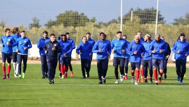 Antalyaspor, Akhisar Belediyespor maçı hazırlıklarını tamamladı