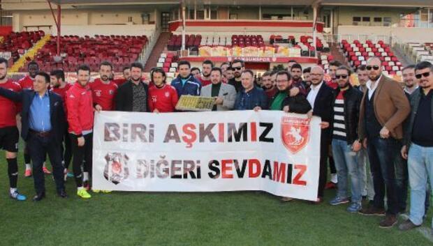 Beşiktaşlılardan Samsunspora destek
