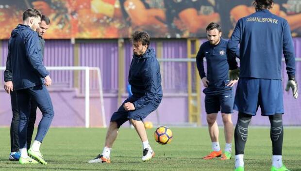 Osmanlıspor, Medipol Başakşehir maçı hazırlıklarını tamamladı