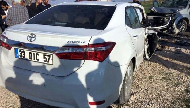 Nusaybinde trafik kazası: 6 kişi yaralandı