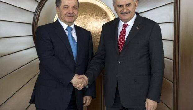 IKBY Başkanı Barzani, Çankaya Köşkünde
