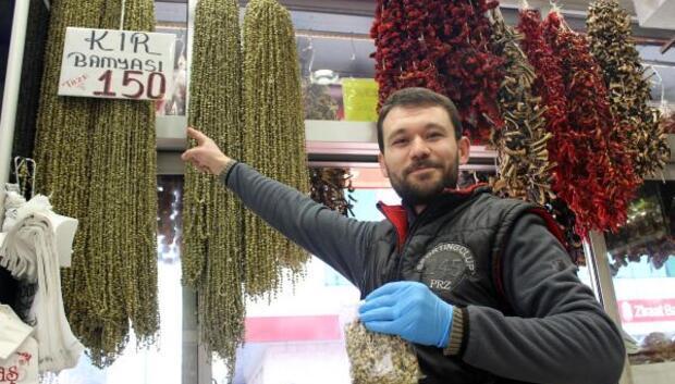 Bamya altınla yarışınca, gramla satılıyor