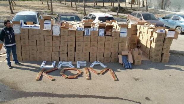 Şanlıurfada kaçak sigaraya 21 tutuklama