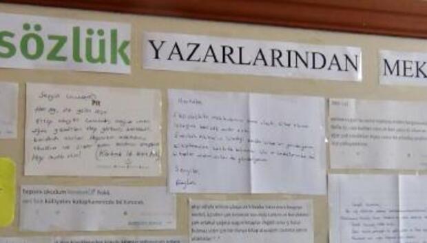 Mektupla oluşan kütüphane