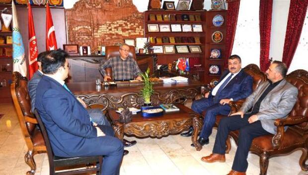 Tarım Kredi Kooperatiflerinden Nevşehir Belediyesine ziyaret