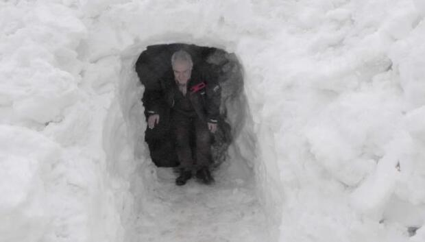 Baharda kar tüneli