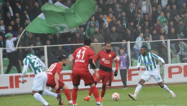 Giresunspor-Eskişehrispor Fotoğrafları