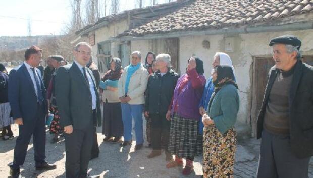 Turhal Kaymakamı Üçerden köy ziyaretleri