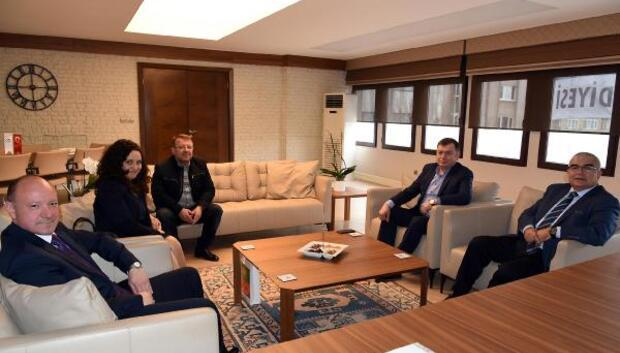 Bulgaristan Başkonsolosu Vilchevden Baysana ziyaret