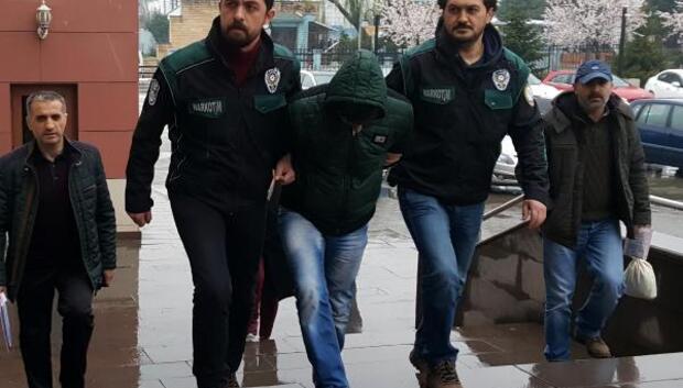 Düzcede uyuşturucuya 1 tutuklama