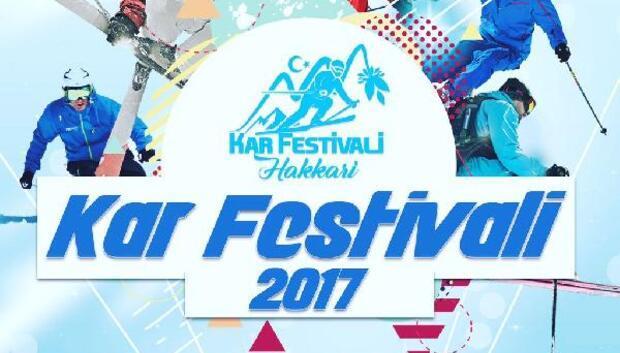 Hakkaride kar festivali düzenleniyor