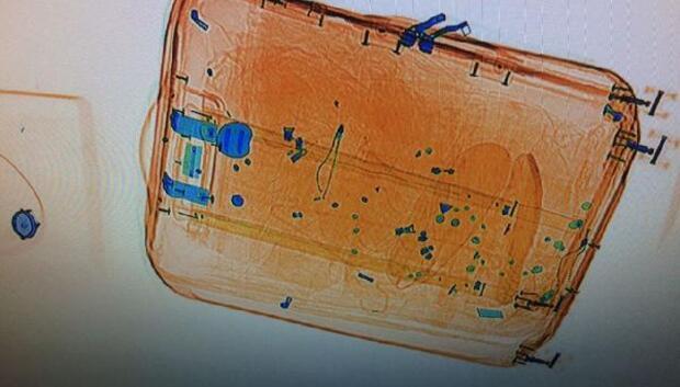 Vanda havalimanında 9 kilo metamfetamin ele geçirildi