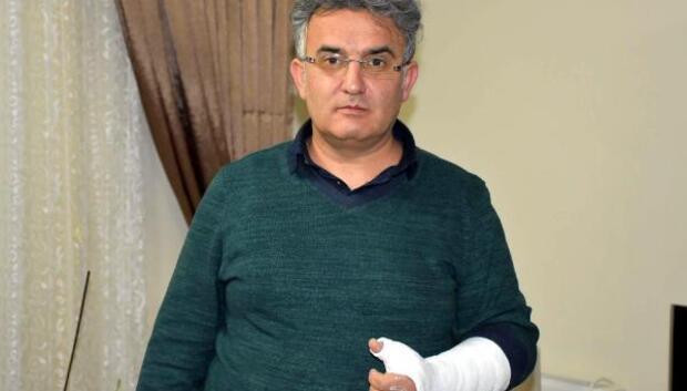 Doktordan başhekim kolumu kırdı iddiası
