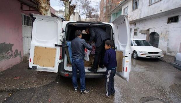 Adıyamanda, Afgan ailelere yardım